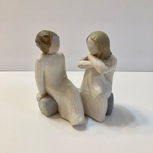 """Willow Tree Double Figure """"Heart and Soul"""" Figurine"""